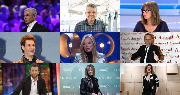 Noticias y actualidad de la televisión en España. Los mejores y peores programas y seguimiento a los presentadores