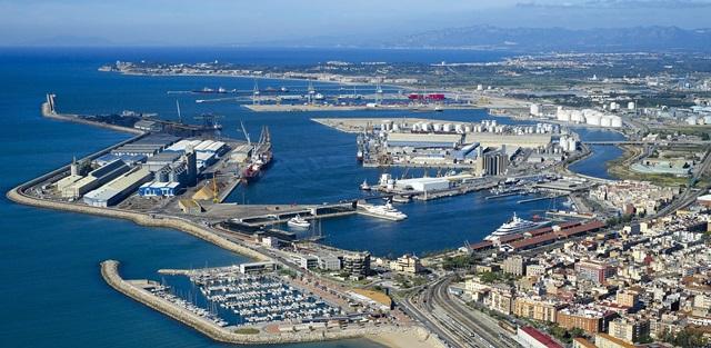 Imatge aèria del Port de Tarragona