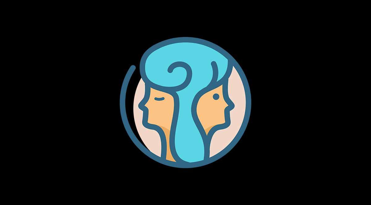 Símbolo del signo del zodiaco Géminis