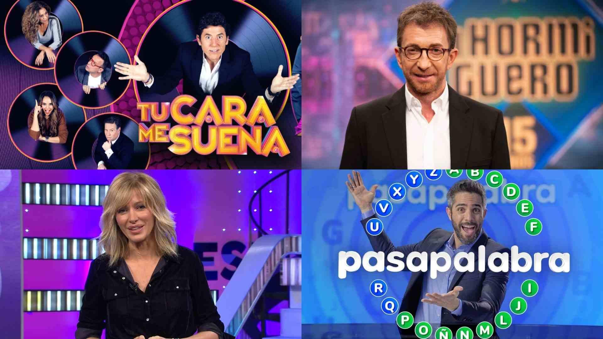 Algunos de los programas de Antena 3
