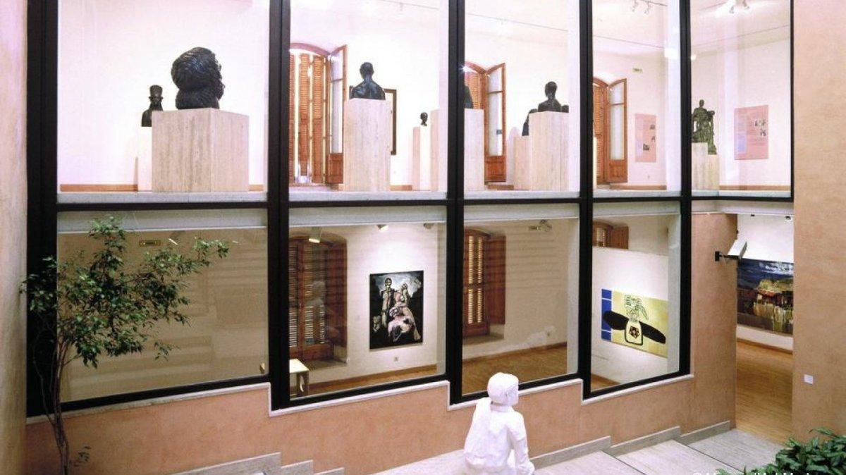 Una imatge interior del Museu d'Art Modern de Tarragona.