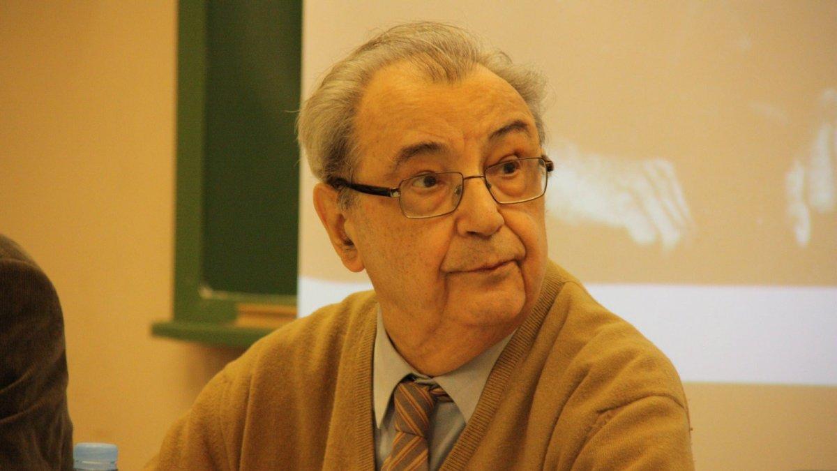 El compositor riudomenc Joan Guinjoan, en una imatge d'arxiu