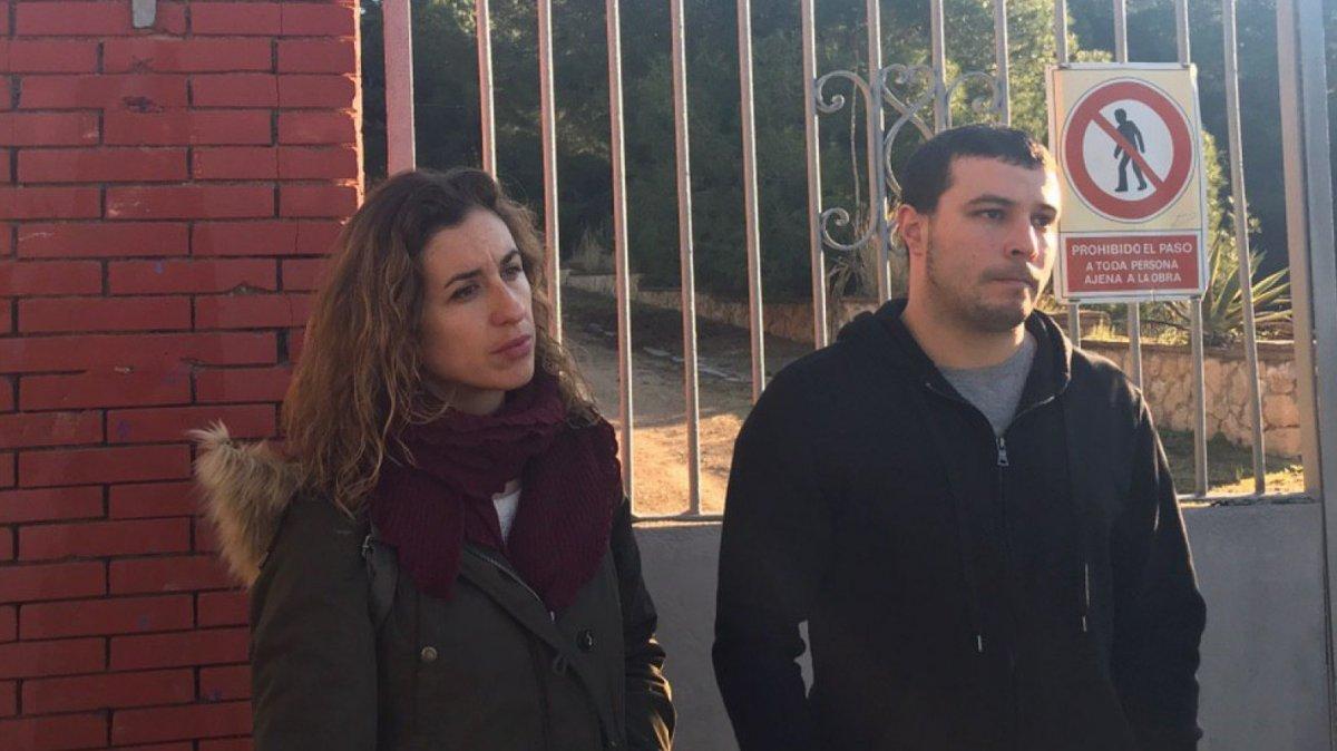 Estrada i Fernàndez han demanat un ús públic des de la porta de l'equipament
