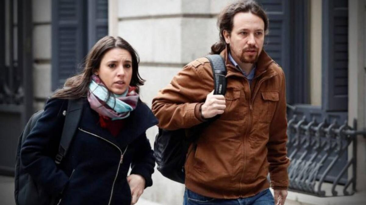 Irene Montero i Pablo Iglesias