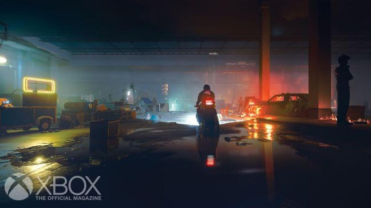 Una de las imágenes del avance de 'Cyberpunk 2077'